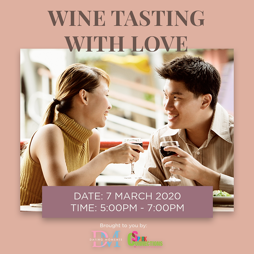 CLOSED! Wine Tasting with Love (50% OFF)