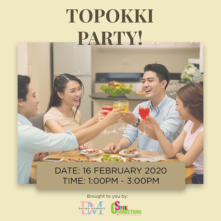 Tteobokki Party! (50% OFF)