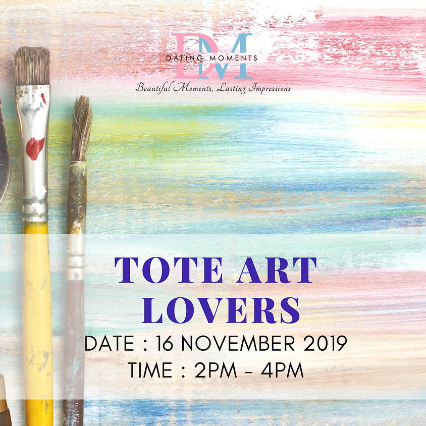 CLOSED! Tote Art Lovers!