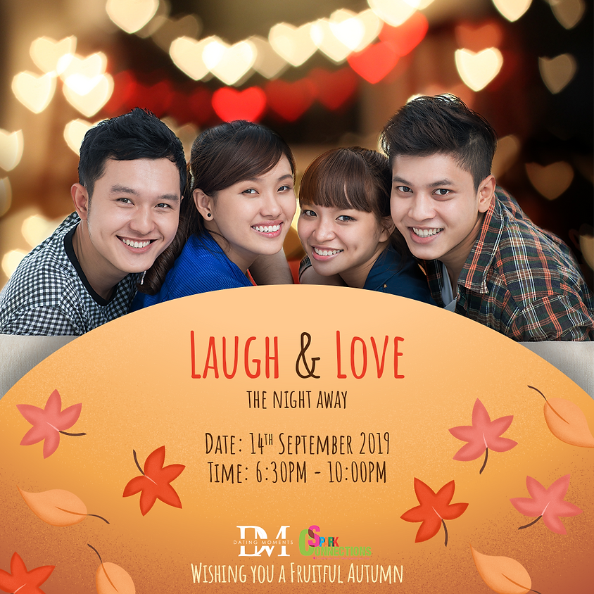 (CALLING FOR LADIES!) LAUGH & LOVE the Night Away (Season 5) (50%)