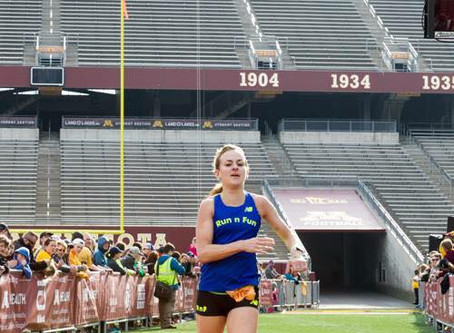 Goldy's Run 10 Mile top finisher story