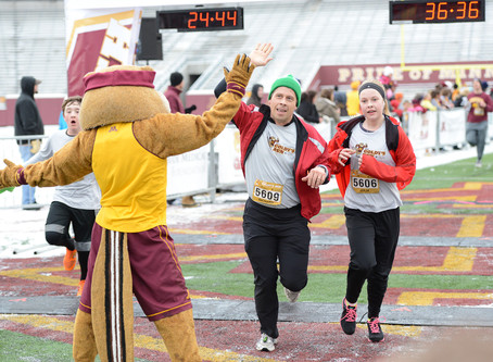 University of Minnesota Masonic Children's Hospital and the Goldy's Run