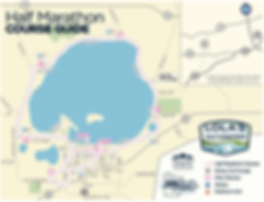 Lake Waconia Half Marathon Course