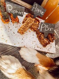 Benjis handmade dog treat bars