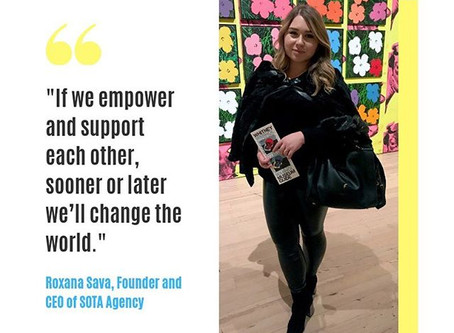 Meet the woman behind the global art agency empowering women