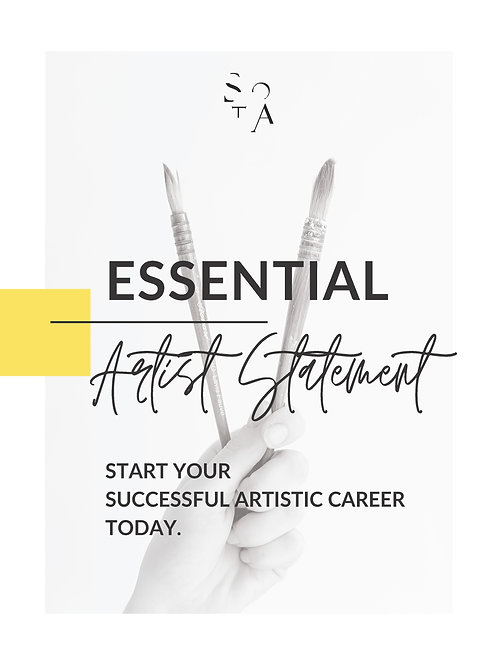 Artist Statement ESSENTIAL Learning Package