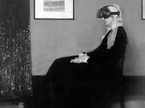 Whistler's Mother, Artwork, Fine Art