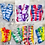 Thumbnail: Colorful Bunch Tie Dye Socks (Assorted)