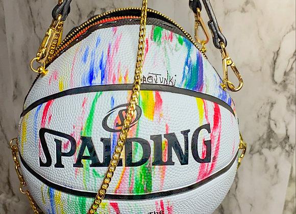 SplatterSpalding BasketBall Bag