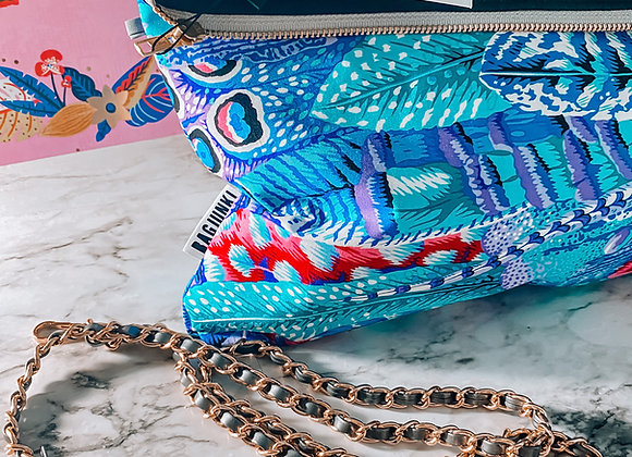 Feathers Remixed Clutch