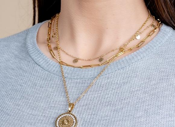 Medallion of Prayer Chain