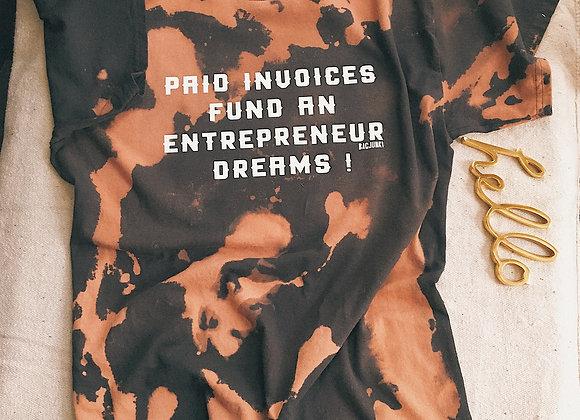 Bleached Entrepreneur T-shirt
