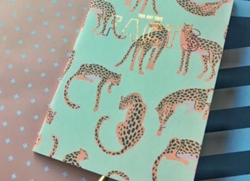 Cheetah Me Up Notebook