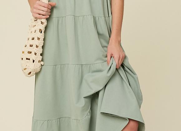 Tiered Comfort Dress