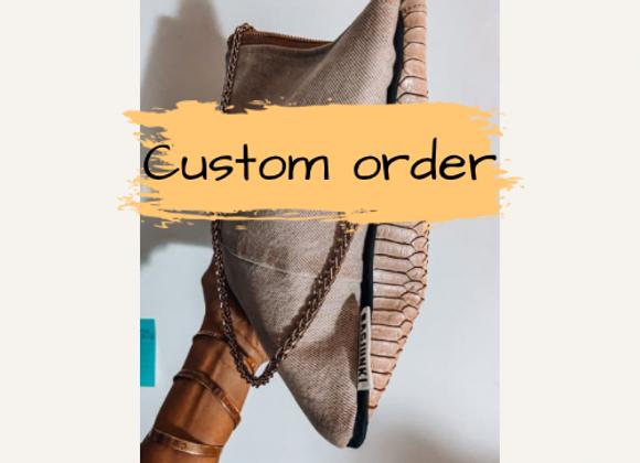 Only Veronica's Salmon Custom Order