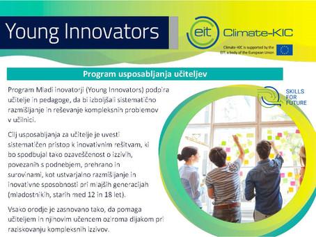 Izobražujemo učitelje v sodelovanju s programom Mladi inovatorji