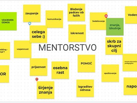 Delavnica Veščine mentorstva