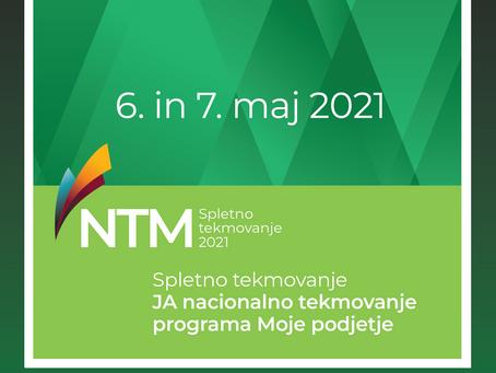 JA nacionalno tekmovanje programa Moje podjetje 2021