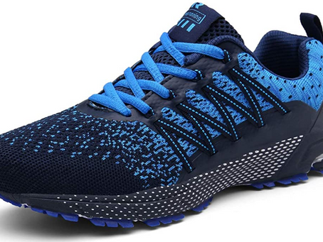SOLLOMENSI Mens Womens Running Shoes