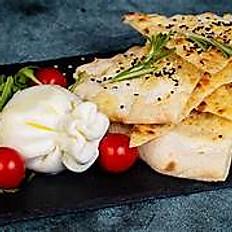 Burrata  fromage frais  importé d'Italie