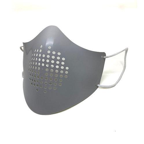 楽しむマスク(グレー)