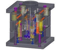 デザイン プロダクト 設計 STL 切削 厚肉 ポリゴン 成形 金型 デジタルモールド  3Dプリンター FDM マシニング ロッキー化成