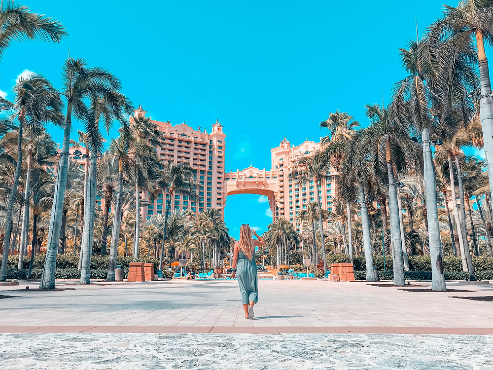 Atlantis Resort on Paradise Island in the Bahamas
