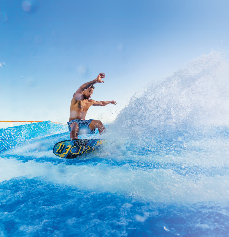 Flow Rider on Royal Caribbean