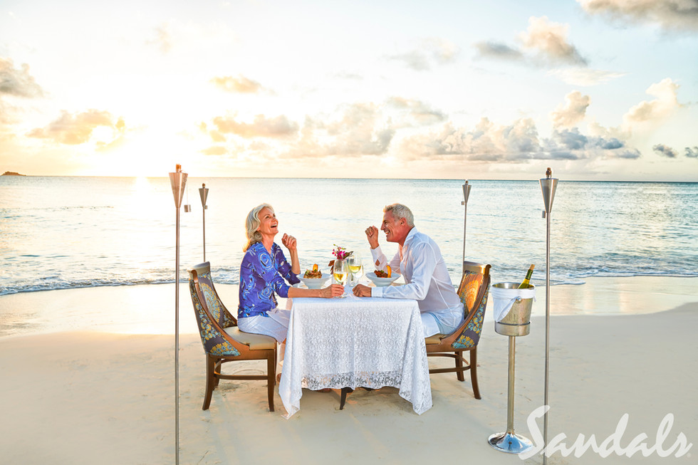 Private Sunset Candlelit Dinner
