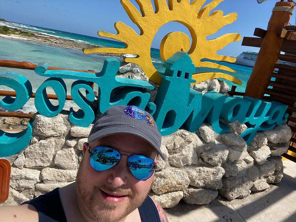 Costa Maya Selfie