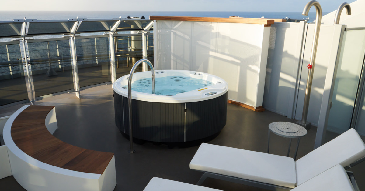 Massive Suite Balcony