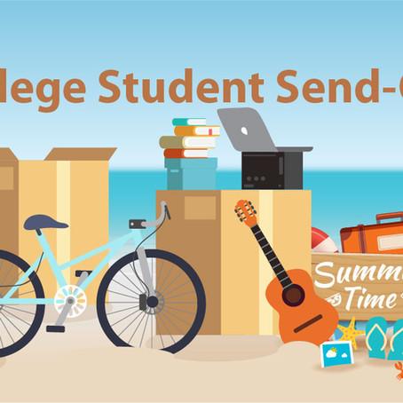 Celebrate Your Graduate... Later! Host a College Send-Off!