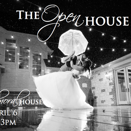 You're Invited to our Bridal Open House!