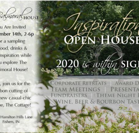 An Open House to Inspire your next 2020 Company Event