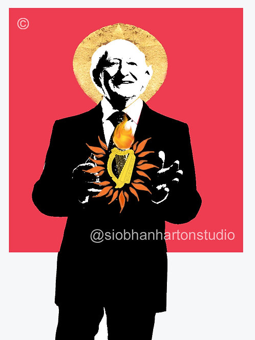 Sacred Harp Of Michael D (Rose Red)