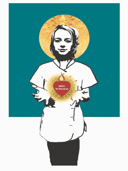 The Sacred Heart Of A Nurse (One million thank yous)