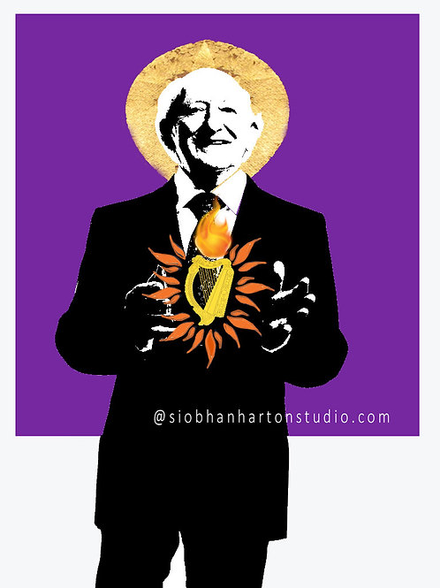 The Sacred Harp of Michael D (Purple)