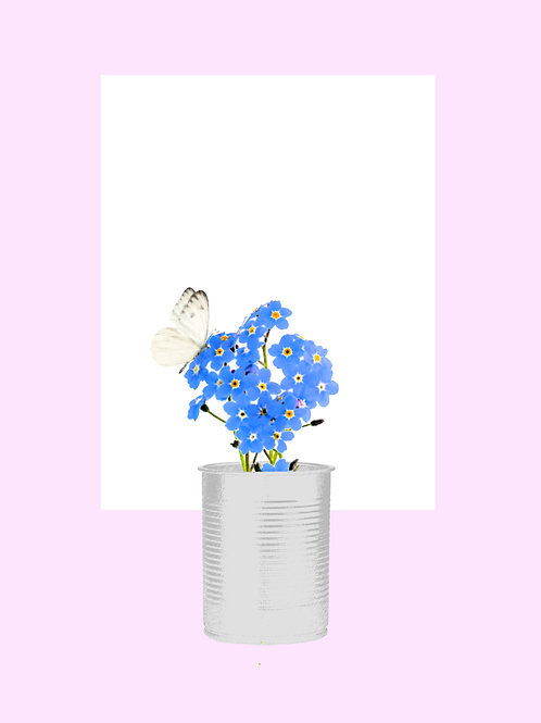 Forget Me Not (Soft Pink)