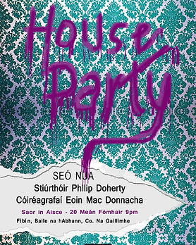 house party poster WALL PAPER TORN copy.