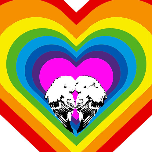 Love Birds (Rainbow)