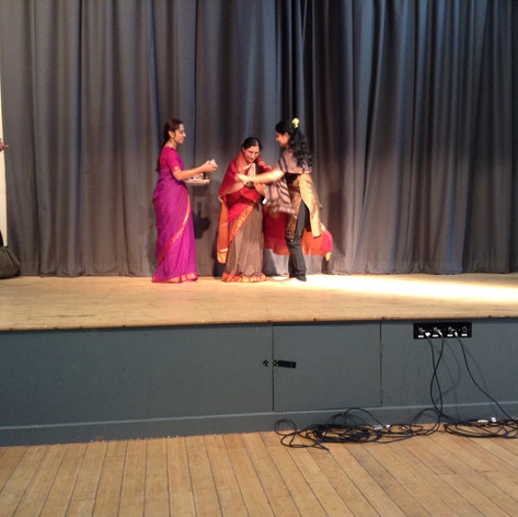 Felicitation at Balaji Temple Birmingham