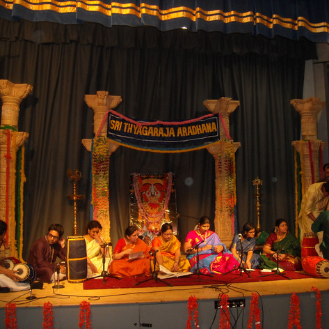 St Thyagaraja Aaradhana 2016