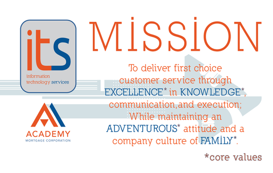 Mission Statement poster