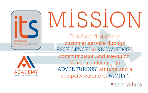 Mission Statement poster