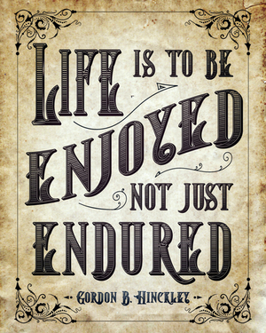 LDS Life is to be Enjoyed