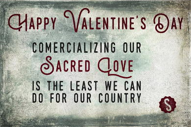 Valentine (sarcastic)