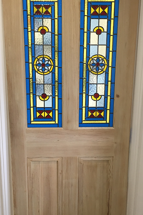 Door supplier bridgend geleta doors stained glass internal stained glass internal door pitch pine planetlyrics Images