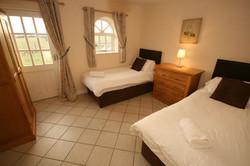 Homestead ground floor bedroom