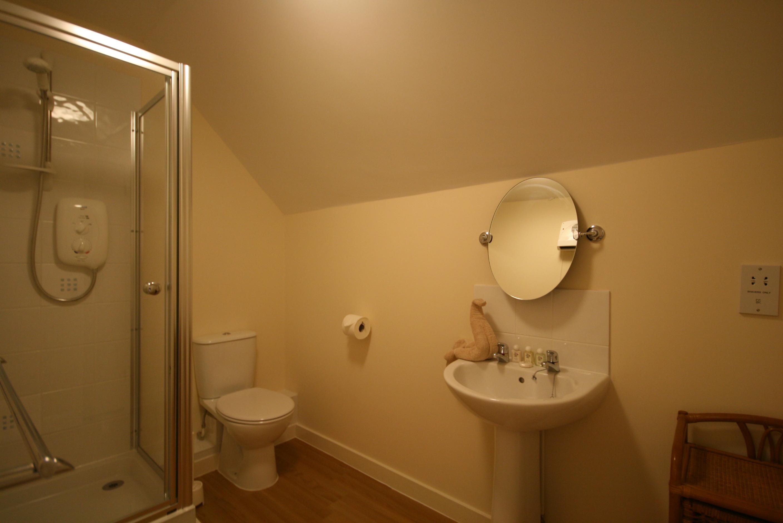 Homestead upstairs shower