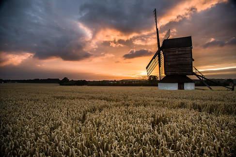 Britain's Oldest Windmill